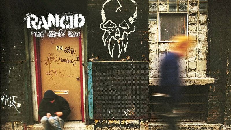 Illustration for article titled With Life Won't Wait, Rancid nearly made good on its Clash-inspired promise