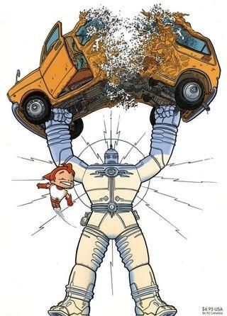 Where S My Goddamn Big Guy And Rusty The Boy Robot Movie