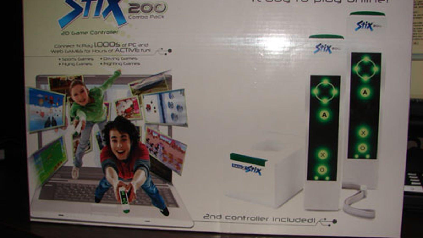 Stix200gpr 2. 4ghz wireless controller user manual playhut inc.