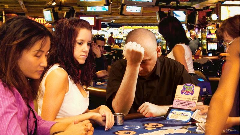 A new study says a majority of gamblers walk away from the table right before becoming millionaires.