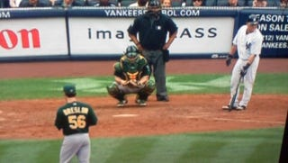 Illustration for article titled This Evening: That Sign Behind Home Plate Sums It Up