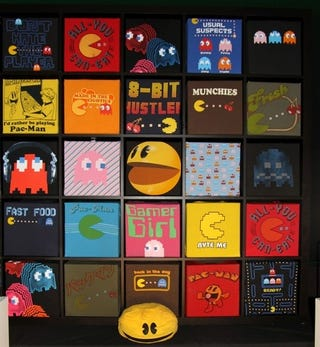 Illustration for article titled The Shirts of Pac-Man