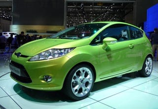 Illustration for article titled Ford Fiesta 3 and 5 Door Live And In Color, Retina-Searing Color