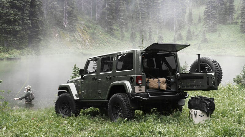Illustration for article titled Is This $70,000 Luxury Jeep Wrangler A Better Buy Than A Range Rover?
