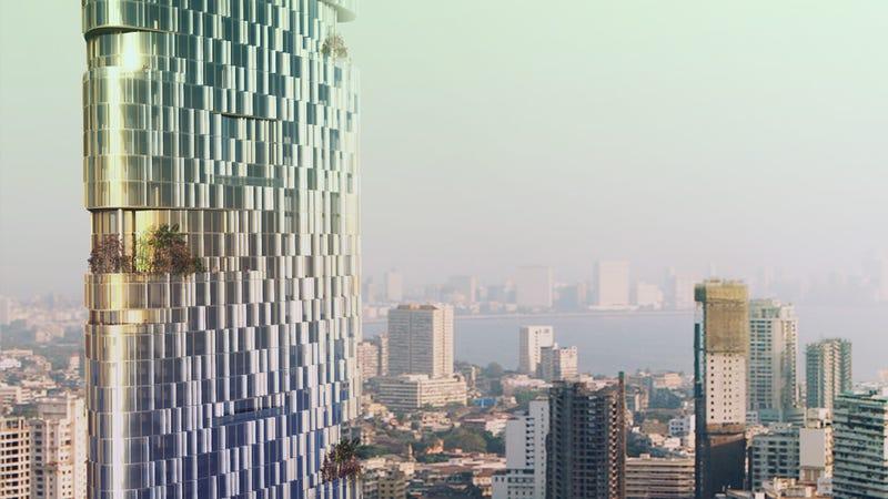 El rascacielos de 116 pisos que engaña al viento