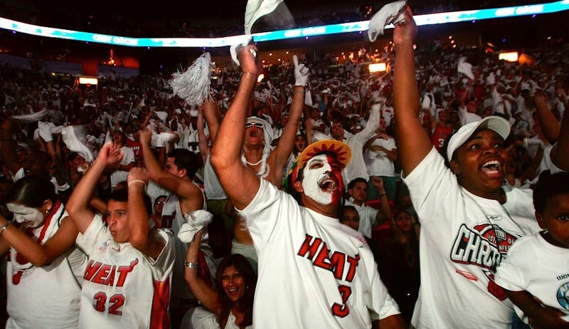 Illustration for article titled Miami Heat Nation Encompasses More Than Brats, Ghouls, And Idiots