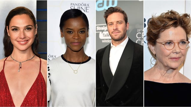 Gal Gadot, Letitia Wright, Armie Hammer, and Annette Bening top a starry Death On The Nile cast