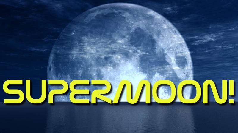 Illustration for article titled Prepare for the Supermoon, the biggest, brightest full Moon of the year