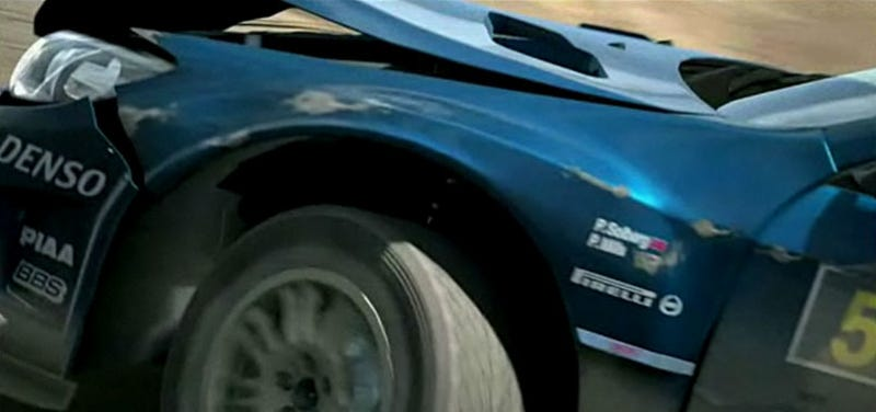 Illustration for article titled Gran Turismo 5 Trailer Has, Yes, Car Damage