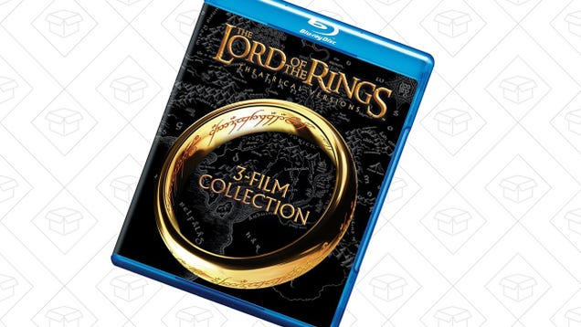 The Lord of the Rings Theatrical Trilogy For $8 Is a Precious Deal