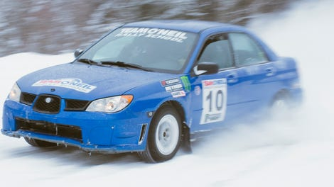 Watch The Exact Moment This Guy Realizes He Crashed His Subaru STI