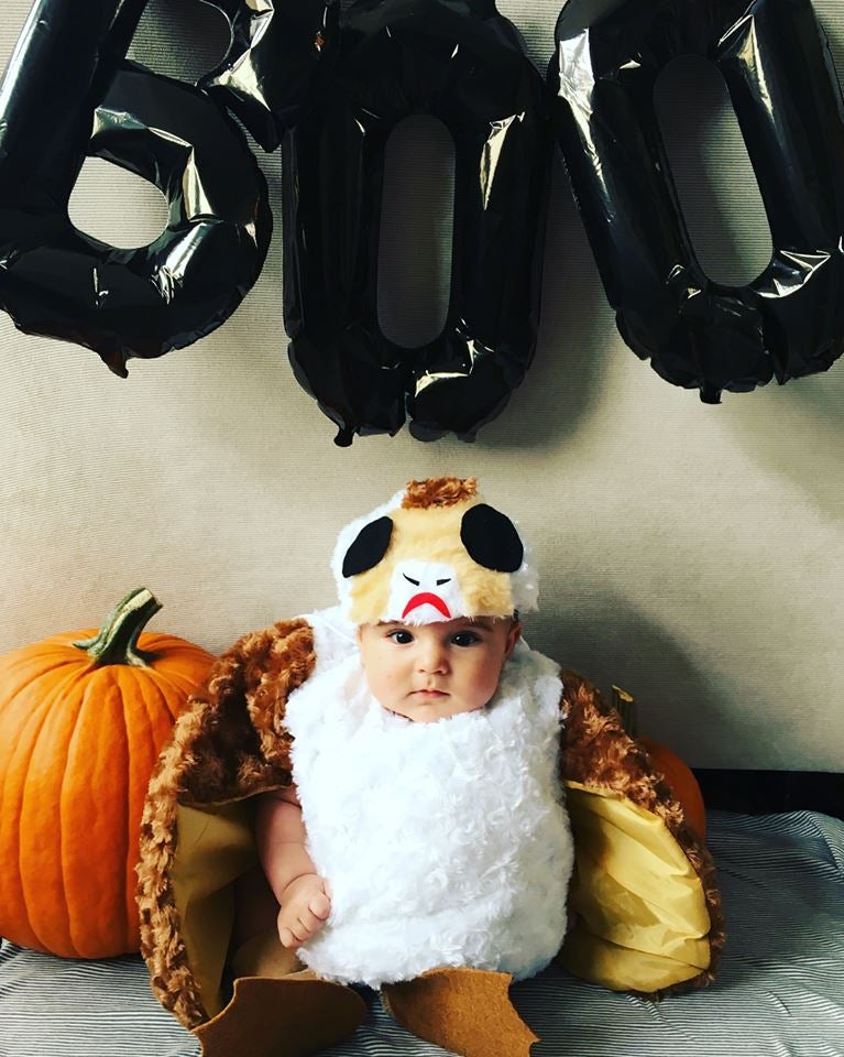 sc 1 st  io9 - Gizmodo & This Baby Dressed Up As a Porg Is Almost Certainly Cuter Than Your Baby