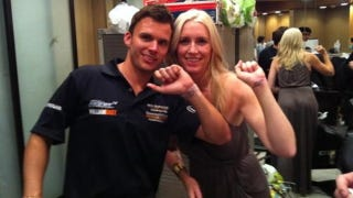 Illustration for article titled Dan Wheldon and wife got matching tattoos night before deadly crash