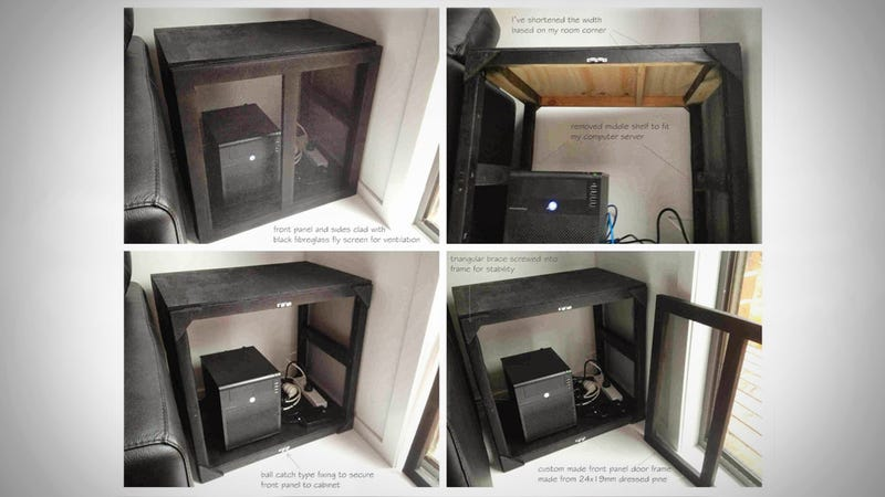 Ordinaire If You Have A Home Serveru2014whether Itu0027s A Pre Bought Model Or One You Built  Yourselfu2014you Need A Good Place To Put It. IKEA Hacker Lauzer Put His In A  Modded ...