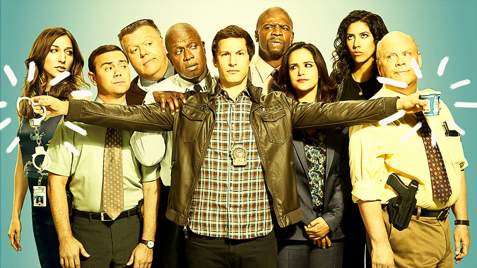 "10 episodes of ""noice"" teamwork from Brooklyn Nine-Nine"
