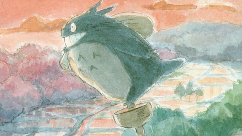 Illustration for article titled The Art and the Beauty of Studio Ghibli
