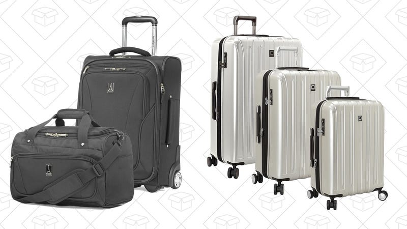 Today's Best Deals: Summer Luggage Steals, Harmony Universal ...