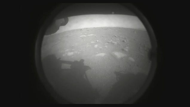 Here Are the First Images of Mars Taken by NASA s Perseverance Rover