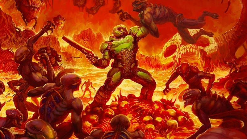Illustration for article titled Doom Is Even Better When Played On A Harder Difficulty