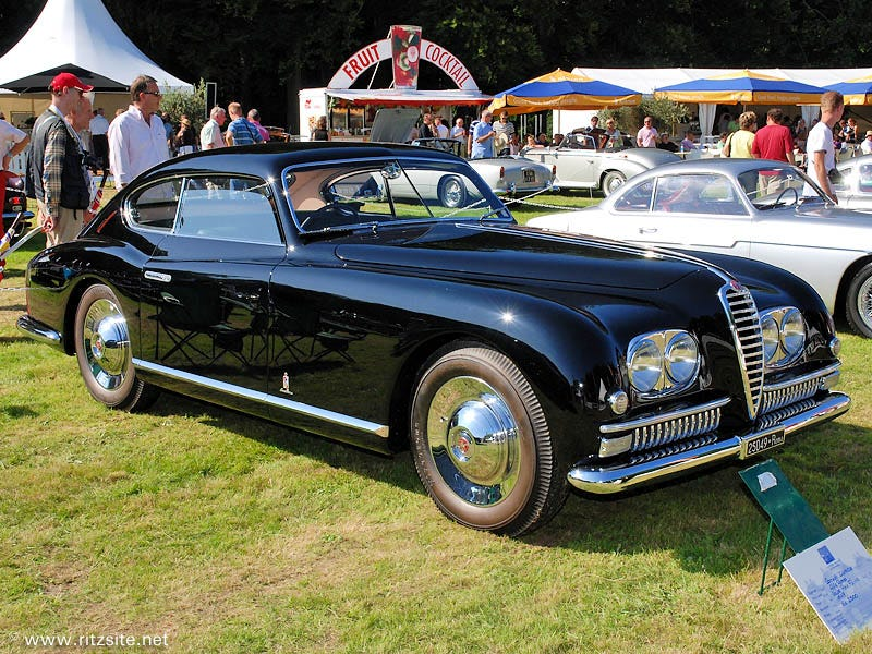 Illustration for article titled Unique 1949 Alfa Romeo 6C 2500 Wins Top Prizes At 2013 Monte Carlo Concours d'Elegance.
