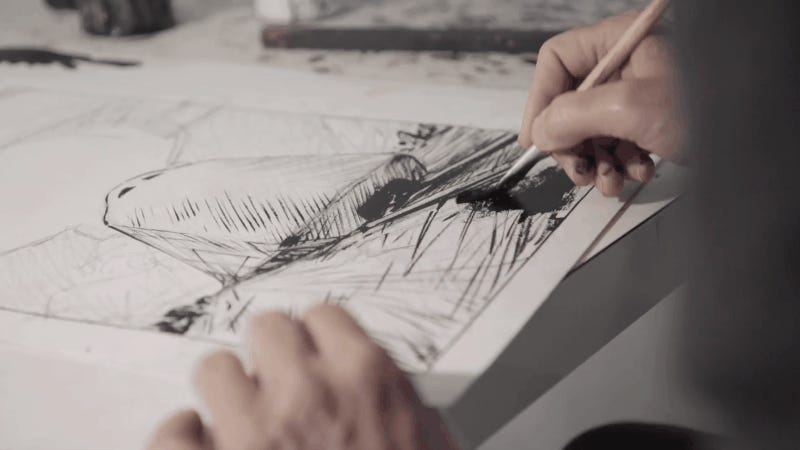 Watch the Artist Behind the Snowpiercer Saga Bring the Train to Life