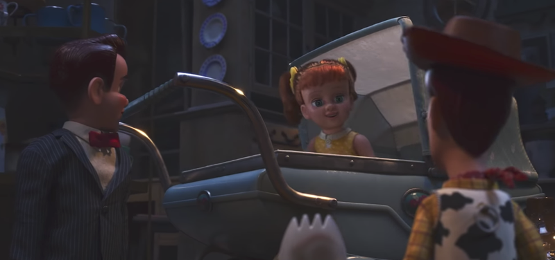Illustration for article titled La villana de Toy Story 4 es esta macabra muñeca de 1950