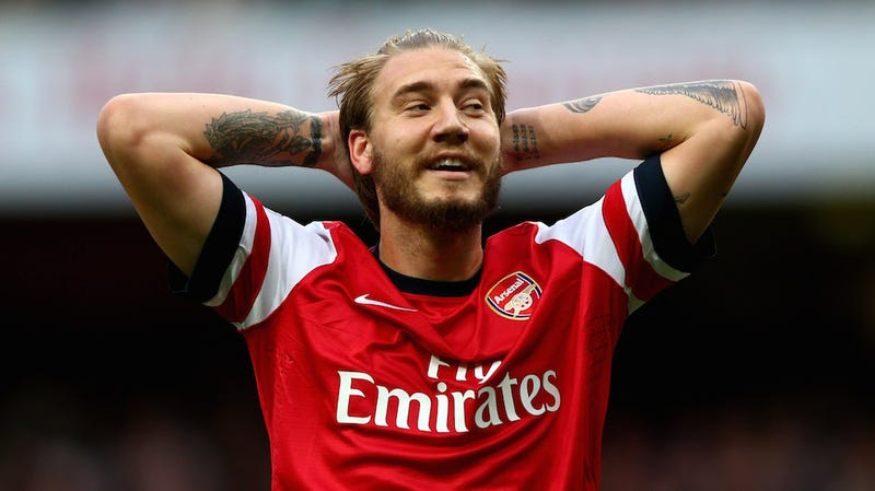 Illustration for article titled Arsenal Striker Nicklas Bendtner Rubbed His Dick On A Taxi Tuesday