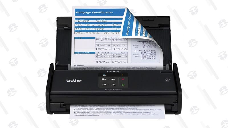 Brother Compact Color Desktop Scanner with Duplex and Wireless Networking | $174 | Amazon