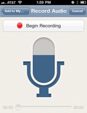 Illustration for article titled Springpad Adds Voice Memos, Alternate Login Options to its iOS App