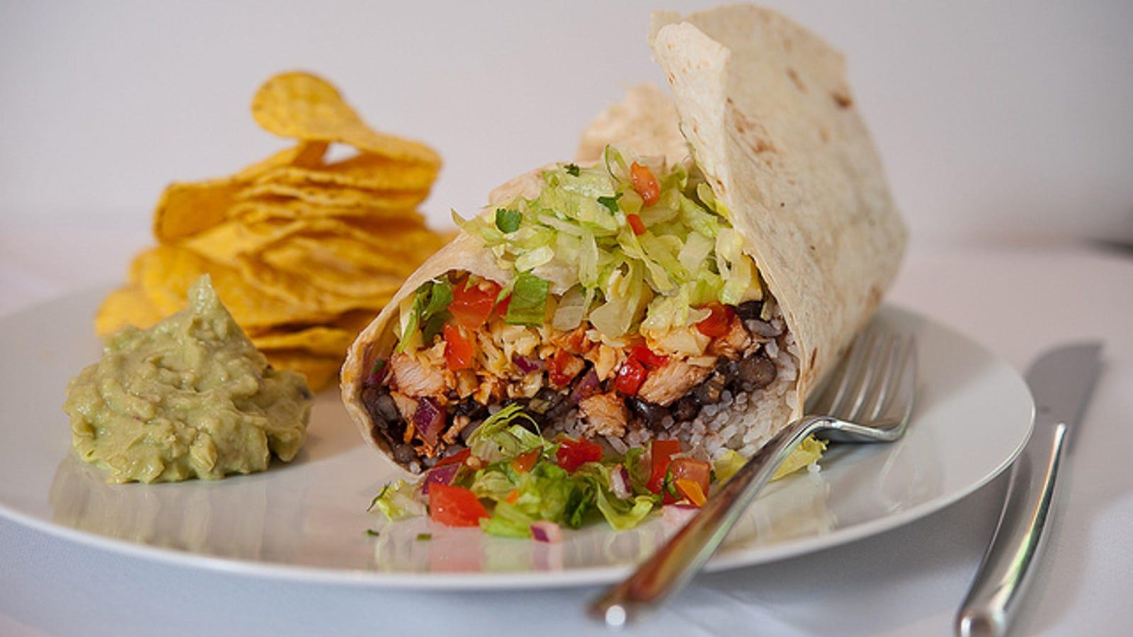 is a burrito a sandwich