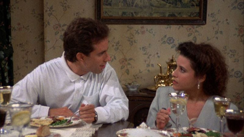 """Illustration for article titled Seinfeld: """"The Ex-Girlfriend""""/""""The Pony Remark""""/""""The Busboy"""""""