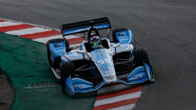 Illustration for article titled Max Chilton Kicks Off IndyCar Season Quickest in Laguna Seca Test