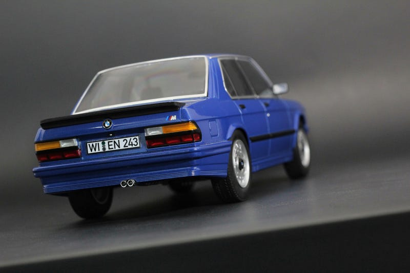 Illustration for article titled Norev e28 M5 in 1:18 scale