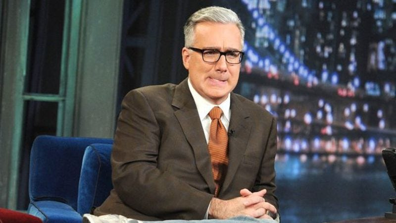 Illustration for article titled ESPN suspends Keith Olbermann for anti-Penn State tweets