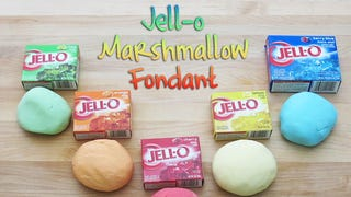 Illustration for article titled Jell-O and Marshmallows Make a Quick and Tasty Fondant