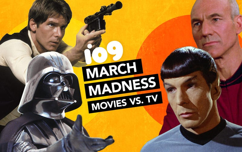 Illustration for article titled io9 March Madness Championship Round: Star Wars vs. Star Trek!