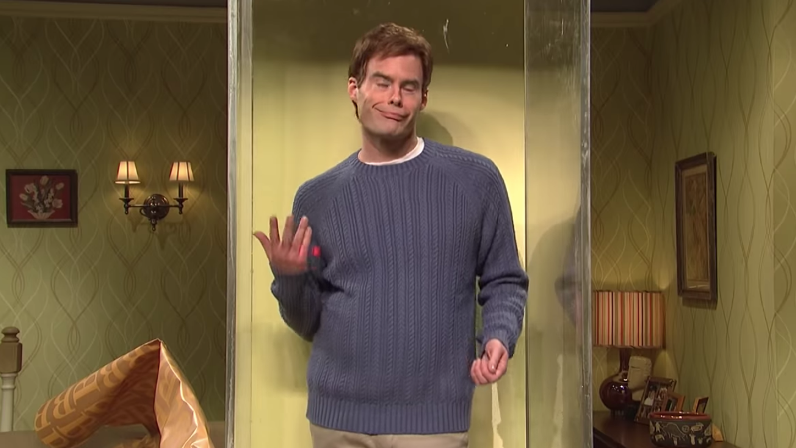 Awkward dudes on the dance floor, the Bill Hader Dancing To meme is for you