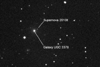 Illustration for article titled 10-year-old Canadian becomes the youngest person to discover a supernova