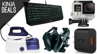 Sunday's Best Deals: GoPro Silver, Garment Steamer, DualShock Charger, and More