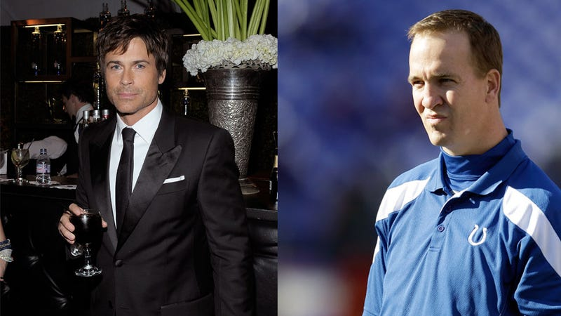 Illustration for article titled Peyton Manning Will Retire Today, Reports ... Rob Lowe [UPDATE]