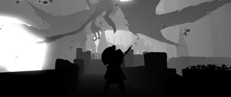 Illustration for article titled Mod Turns Dark Souls Into Black And White Nightmare