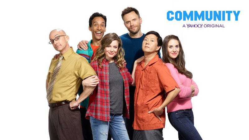 Illustration for article titled Six seasons and a promo: Community announces return date