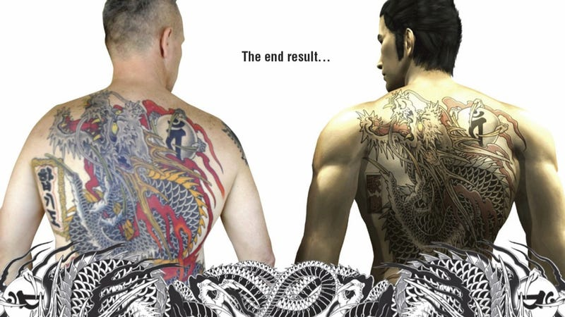 Illustration for article titled Man Gets Full Yakuza Back Tattoo. It's Valued At Over $9,000.
