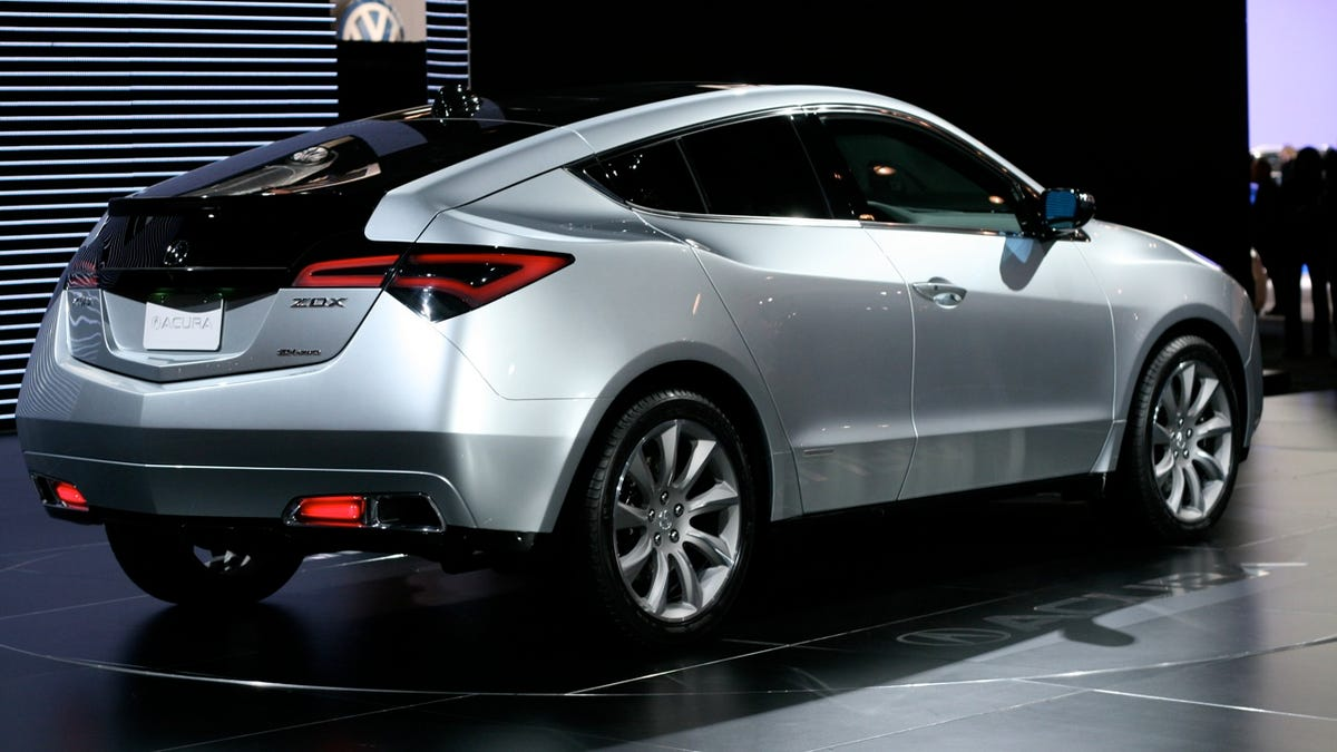Acura ZDX Crossover One Of Everything - Www acura zdx