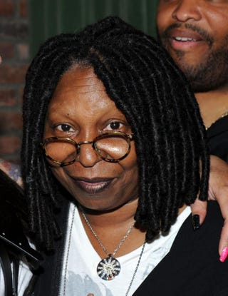 Whoopi Goldberg attends Alex Martin's 40 and Fly Birthday Celebration at the Bowery Hotel May 9, 2014, in New York City. Ilya S. Savenok/Getty Images