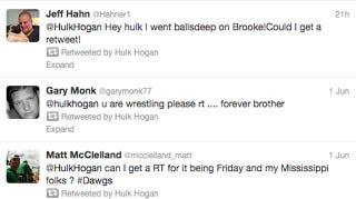 "Illustration for article titled Hulk Hogan Retweeted Gentleman Because He ""Went Balls Deep"" On His Daughter Brooke"