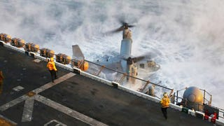 Terrifying Image Shows Heroic Crew Trying To Keep Stricken Osprey Flying