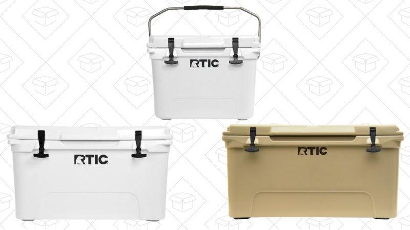 RTIC 20 qt Cooler, $101 | RTIC 45 qt Cooler, $122 | RTIC 65 qt Cooler, $140