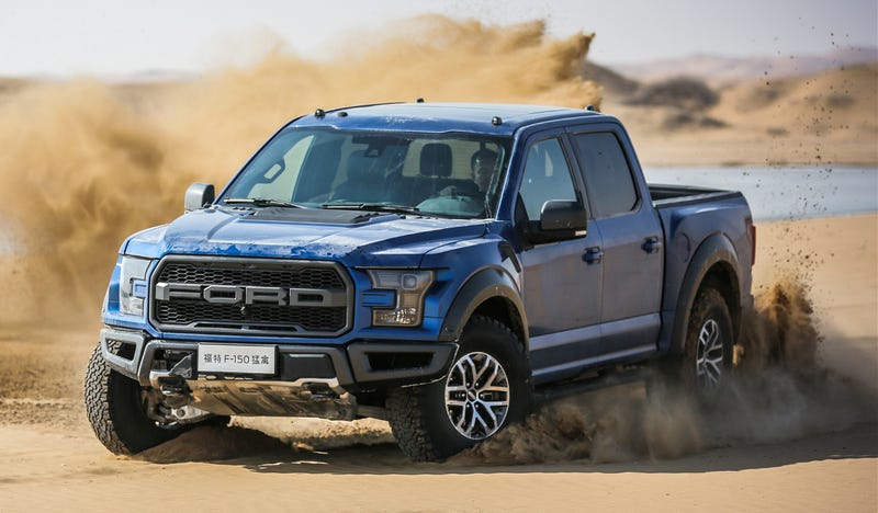 The 2017 Ford Raptor Costs A Lot More In China