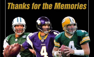 Illustration for article titled A List Of Places Where Brett Favre Is Also Not Going, Yet